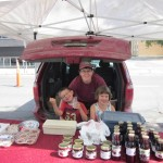 The kids helping at the Regina Farmer's Market
