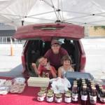 The kids helping at the Regina Farmer's Market