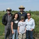 Joe Fafard & family