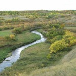 A view of Wascana creek